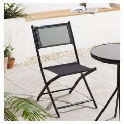 Fold Up Chairs Tesco Chair Covers Grey Mesh Folding Garden Black