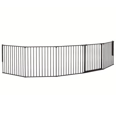 Buy Babydan Room Divider, Black from our Wall Fix Gates