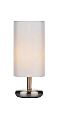 Buy Small Touch Dimmable Satin Chrome Desk Lamp from our ...