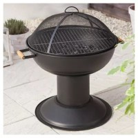 Buy Tesco Charcoal Firepit Barbecue from our Fire Pits