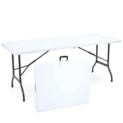 fold up chairs tesco besthf com buy 6ft folding trestle table from our camping furniture range