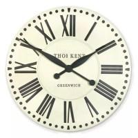 Buy Thomas Kent Parisian Wall Clock - Cream Clock from our ...