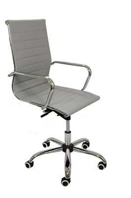 desk chair tesco padded lawn chairs folding buy eames copy grey office from our range