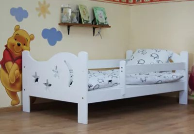 Buy Camila Moon N Stars Toddler Bed White From Our