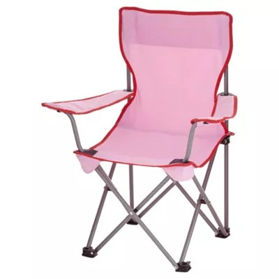 fold up chairs tesco parsons with skirt kids folding chair pink