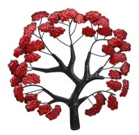 Buy CIMC Home Japanese Red Maple Wall Art from our Wall ...