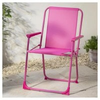 Buy Folding Picnic Chair, Pink from our Outdoor Chairs ...