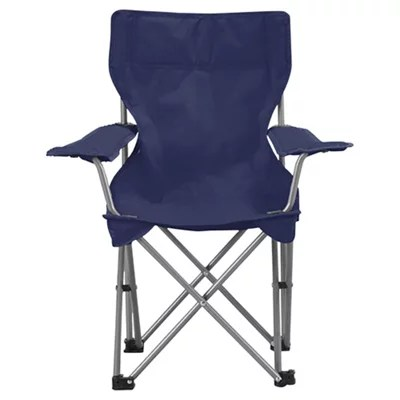 fold up chairs tesco best chair for back pain kids folding camping navy blue