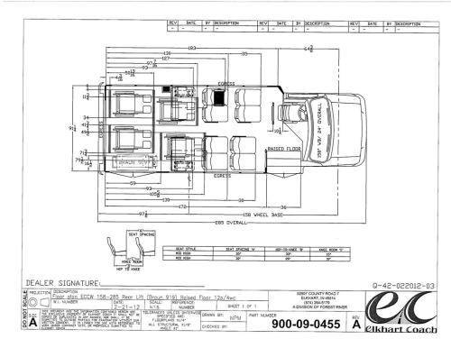 small resolution of elkhart coach ecii bus with a ford e350 drw chassis turtle top wiring diagram elkhart coach wiring diagram