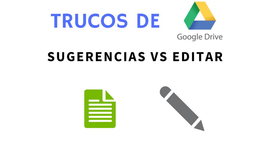 Colaborar sin estorbar en Google Docs: usando el modo de sugerencias para aprobar cambios