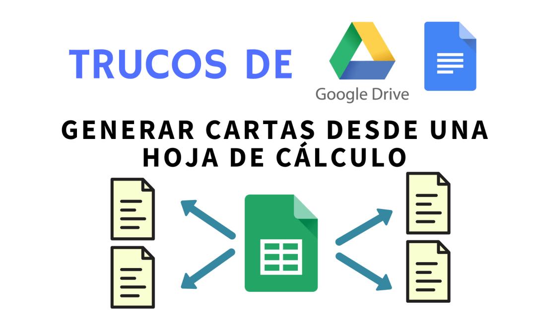 Combinar correspondencia con Google Docs y hojas de cálculo de Google Sheets