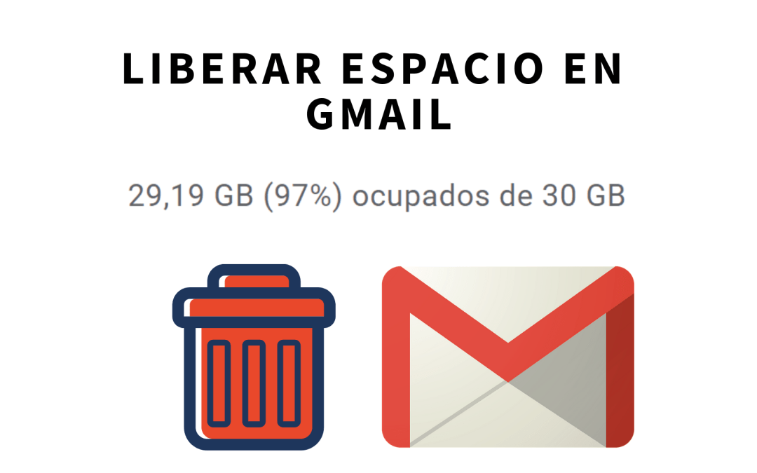 Liberar espacio al borrar archivos adjuntos de forma masiva sin borrar los correos en Gmail