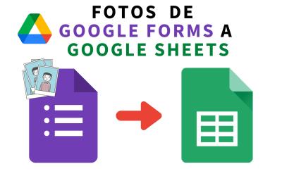 Incluir imágenes de Google Forms en una hoja de cálculo de Google Sheets