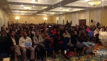 Eritreans in Metro DC gathered to make a statement of unwavering commitment