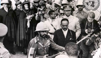 Federating Eritrea with Ethiopia. Eritrea was the only former European colony, out of the 53 African nations, that was denied the right to decolonization by the UN