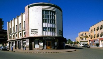 Early modern architecture representing one of the most concentrated and intact assemblages of Modernist architecture found only in Asmara