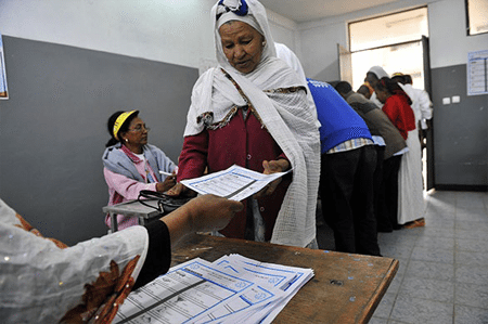"""In Ethiopia, """"elections"""" are not about people's rule but about ruling people."""