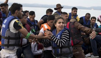 Refugees heading to Europe