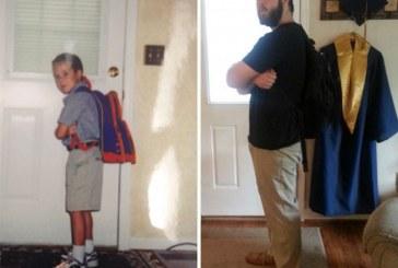 Disa foto mbresëlënëse të ditës së parë dhe të fundit të shkollës