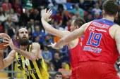 Euroleague: humbja e parë në shtëpi për CSKA-në e Moskës pas më shumë se një viti, e mund Fenerbahçe