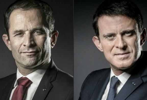 Valls dhe Hamon, dy pretendentët për kandidaturën presidenciale të së majtës në Francë