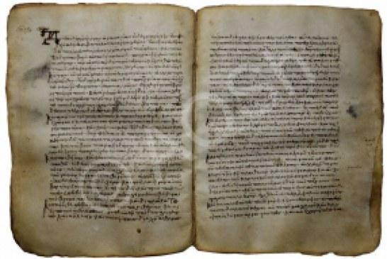 Arkivi shqiptar publikon një pergamenë të rishkruar, llogaritet i vetmi në Shqipëri