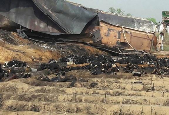 Tafmahja për karburant qyl shkakton horror në Pakistan