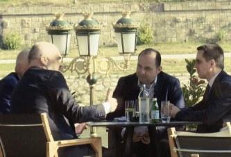 Rama, kafe me krerët e BESËS në Shkup