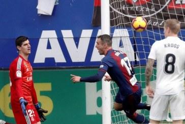 Tërmet në La Liga: Eibari i vogël mposht Realin e madh