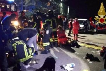 """""""Dasma"""" kthehet në mort: 6 të vdekur dhe 100 të plagosur në një disko në Itali"""