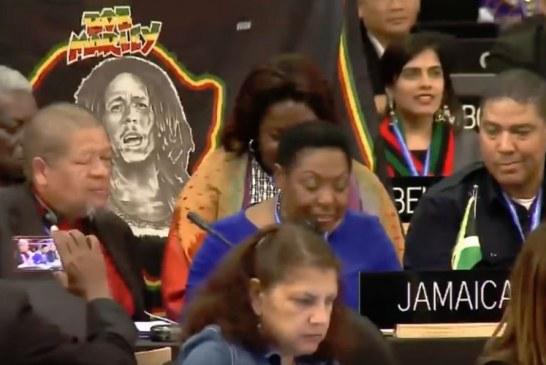 """Reggae në UNESCO, diplomatët nisin e kërcejnë """"On Love"""" të Bob Marlye-t"""
