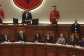 Rama votohet si ministër i Jashtëm, Basha e krahason me Enver Hoxhën