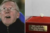 Mbajuni! Çamçakëzi i Alex Ferguson shitet me një shifër fantastike