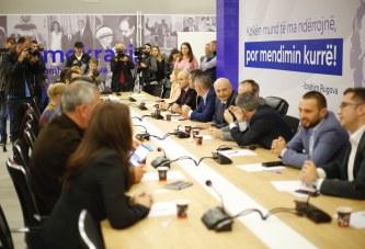 Lidhja Demokratike e Kosovës shpalos planet për rrëzimin e qeverisë