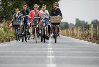 Hollanda prezanton risinë: një shteg biçikletash diellore për prodhim energjie elektrike