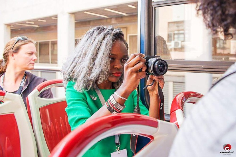 Canon Red Bus Photo Tour with Teshie Ogallo