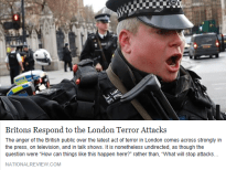 Britons Respond to the London Terror Attacks - National Review