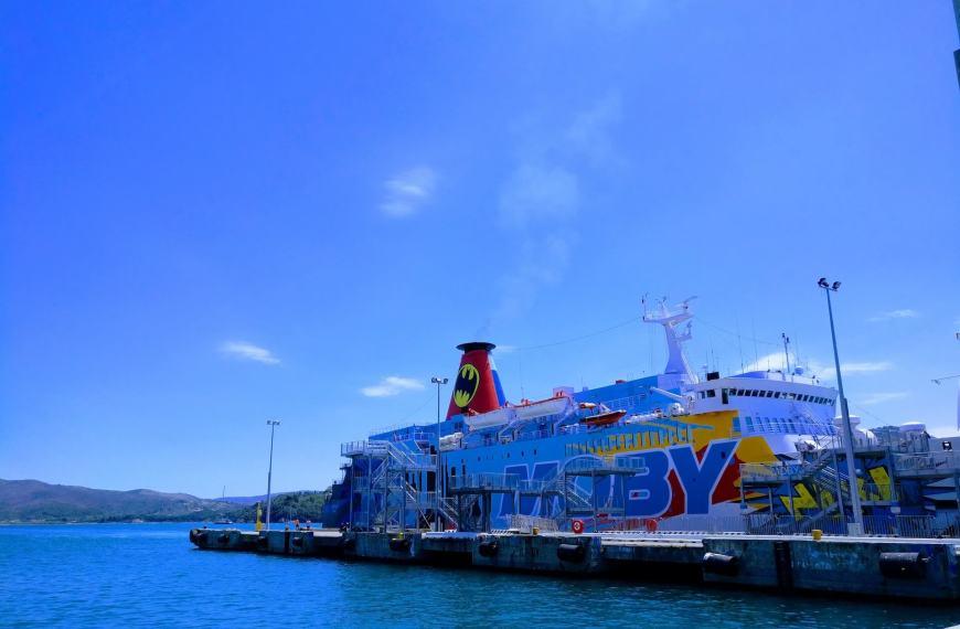 Elba Island Italy Ferry