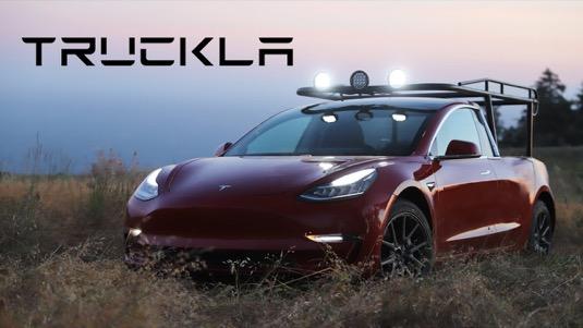 Tesla Model 3 jako pick-up? Podívejte se na video!
