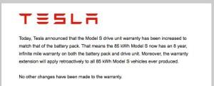 Infinite Mile Warranty
