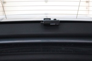 Rear cam installed