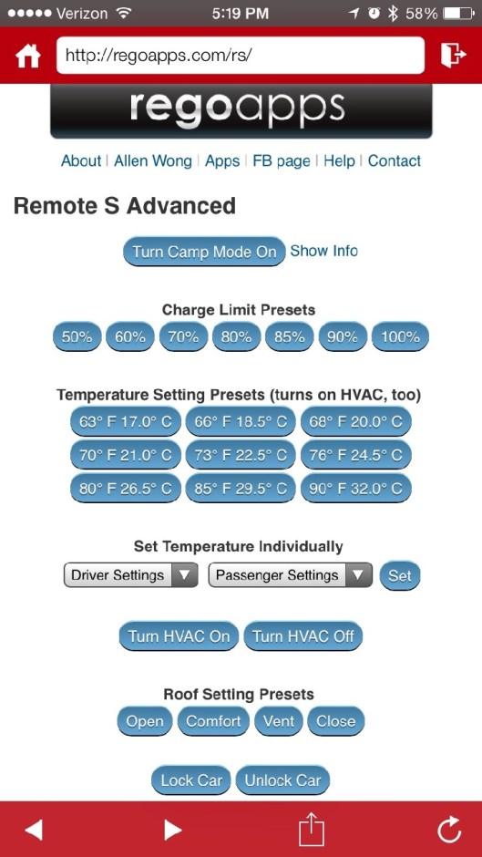 Remote S Advanced