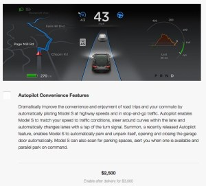 Autopilot Upgrade Price