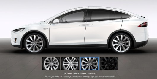 Model X Tire Efficiency