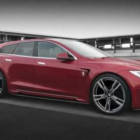 Another Tesla Model S shooting brake is on the way