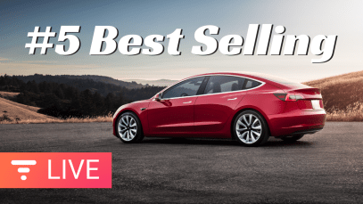 Tesla Model 3 BLAZING PAST the Competition – Now 5th Overall in USA