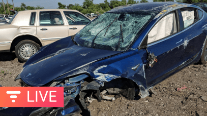Is Tesla Model 3 the Safest Car You Can Buy? First Rollover Accident Details [live]