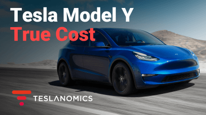 Tesla Model Y True Cost Calculator