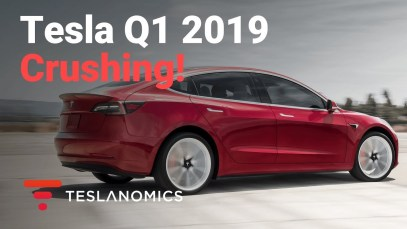 Tesla Destroys Competition in Q1 2019