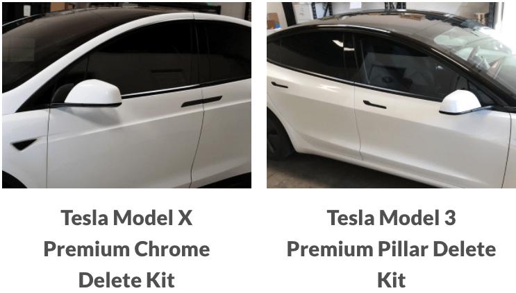 Nikola pro chrome delete kit model 3